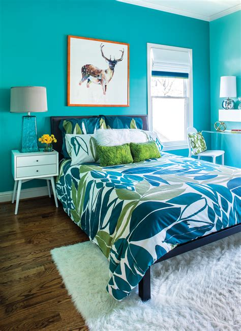 room envy this bright turquoise bedroom is a teen dream atlanta magazine