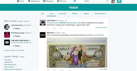 twitter new layout 2015 is twitter testing a new and cleaner search layout