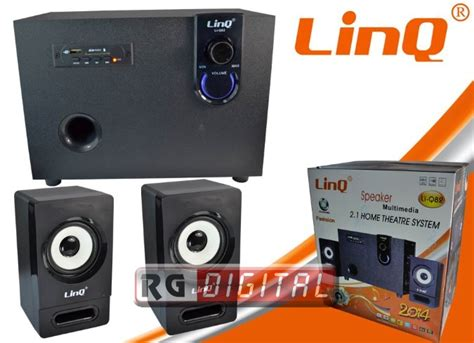 Kit Subwoofer Home Theater Un 021 casse kit multimediale 2 1 home theatre system linq li q82