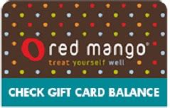 Chili S Gift Card Balance Online - check red mango gift card balance giftcardplace com