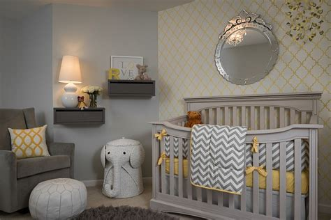 Gray And Yellow Nursery Decor 20 Gray And Yellow Nursery Designs With Refreshing Elegance