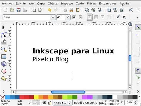 imagenes vectoriales para inkscape inkscape para linux interfaz pixelco tech blog