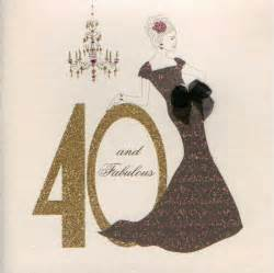 mojolondon age 40 and fabulous birthday card by five dollar shake