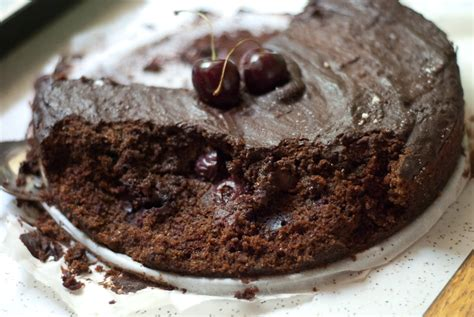 ate chocolate cake vegan cherry chocolate cake recipe cookie and kate