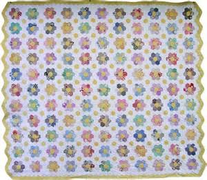 Flower Garden Quilt Grandmother S Flower Garden Quilt Q Is For Quilter