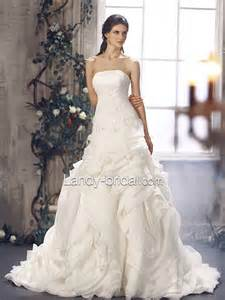 wedding dresses strapless wedding dress with brush ipunya