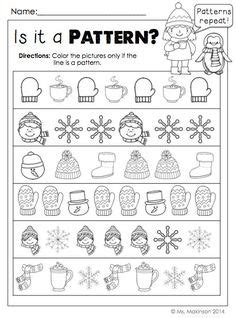 pattern finder math online kindergarten pattern worksheets teacher idea factory