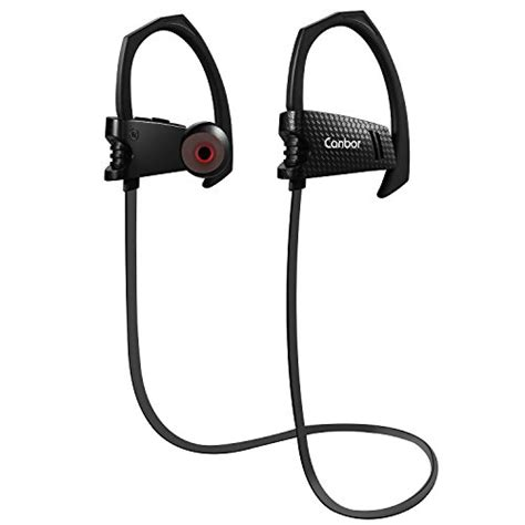 Bluetooth Earphone Neckband Headset Sport Bluetooth B Terjamin canbor bluetooth headphones 4 1 wireless earbuds with mic import it all
