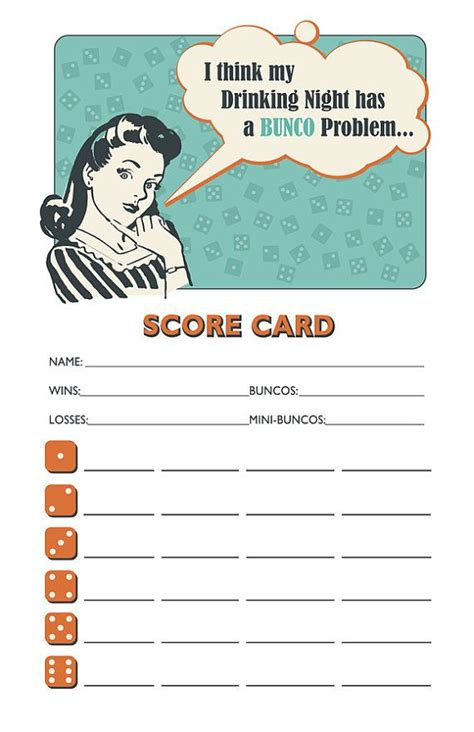 Bunco Punch Card Template by 41 Best Images About Bunco Funco On