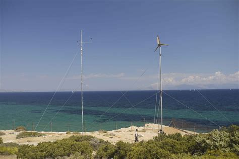 small wind turbine test site rural electrification