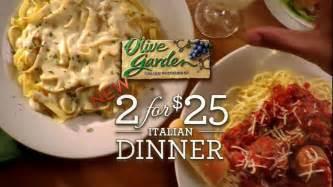 olive garden family meals to go olive garden tv commercial for 2 for 25 italian dinner