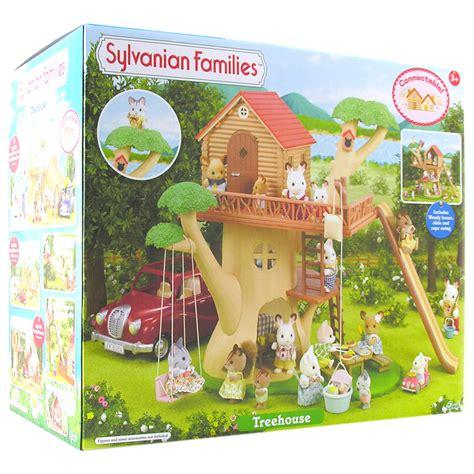 Sylvanian Families Garden - sylvanian families treehouse