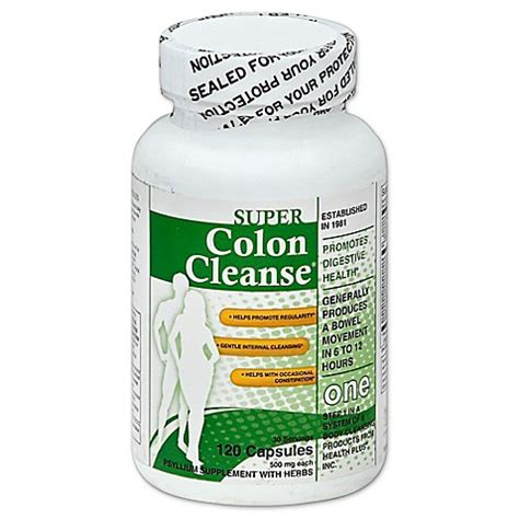 Detox Stool by Colon Cleanse 120 Count Caplets Bed Bath Beyond