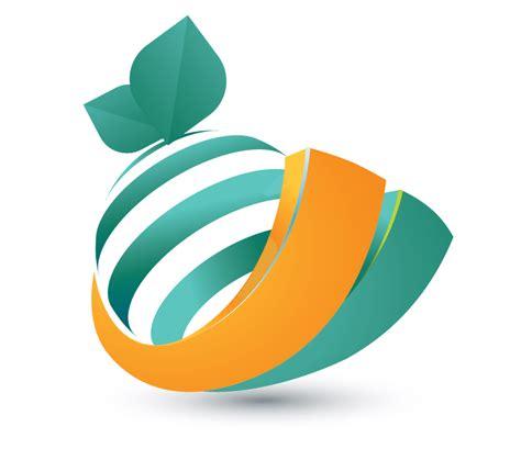 logo design online 00180 orange 3d logo design free logos online 02 free