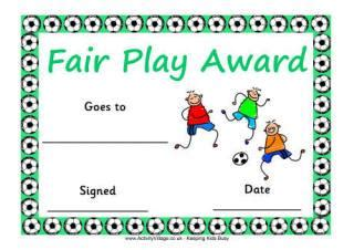primary school sports clubs printable resources certificates