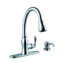 glacier bay pavilion pull down kitchen faucet touch on