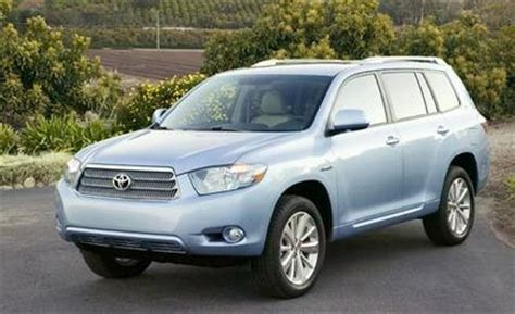 Toyota Highlander 2008 Price 2008 Toyota Highlander Hybrid Prices Announced Car News