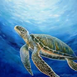 turtles painting sea turtle by grangier
