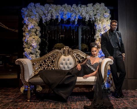 Lux Black Panther Inspired Styled Shoot  Munaluchi Bride