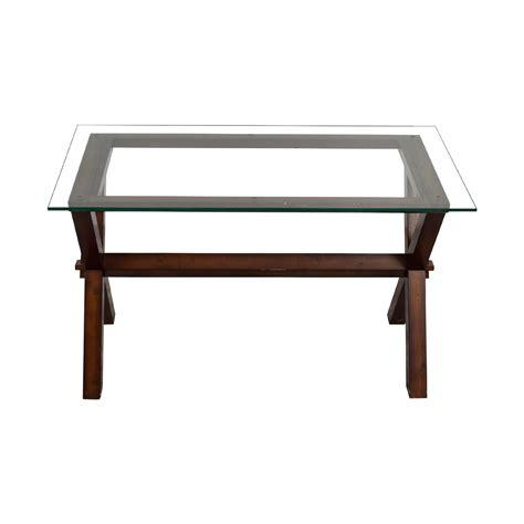 pottery barn glass desk buy used furniture on sale