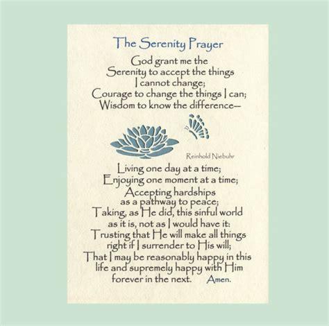 serenity prayer printable version free serenity prayer long version lily butterflies by myserenityway