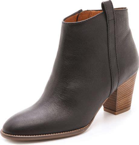 madewell billie boot madewell billie boots in black true black lyst