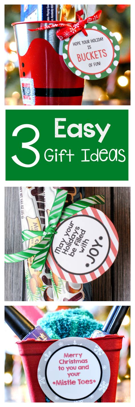 3 easy gifts ideas for friends crazy little projects