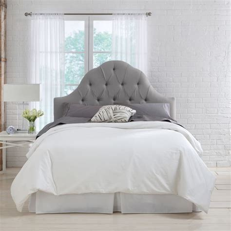 velvet tufted headboard arch inspirations with gray images 1000 ideas about grey tufted headboard on pinterest