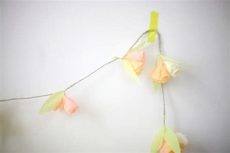 How To Make Crepe Paper Garland - paper crafts easy crepe paper garland craft handmade