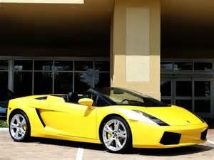 How Fast Is The Lamborghini Gallardo Lamborghini Gallardo Spyder Cars Wheels