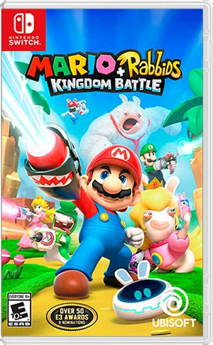 mario rabbids kingdom battle for nintendo switch nintendo details