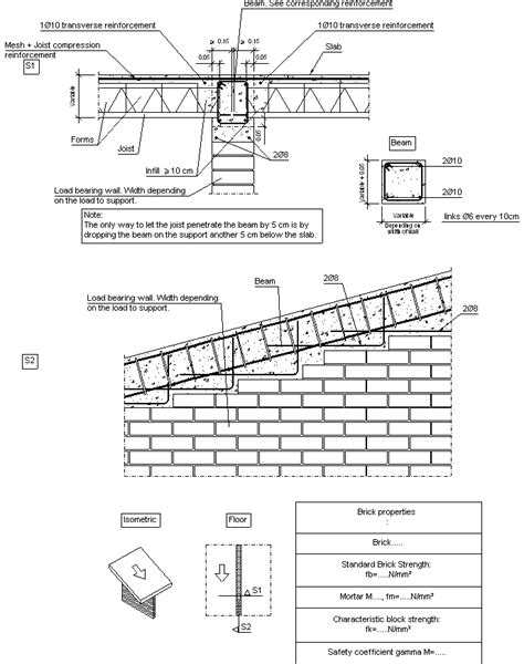 Load Bearing Wall Parallel To Floor Joists construction details cype fiu325 supported between
