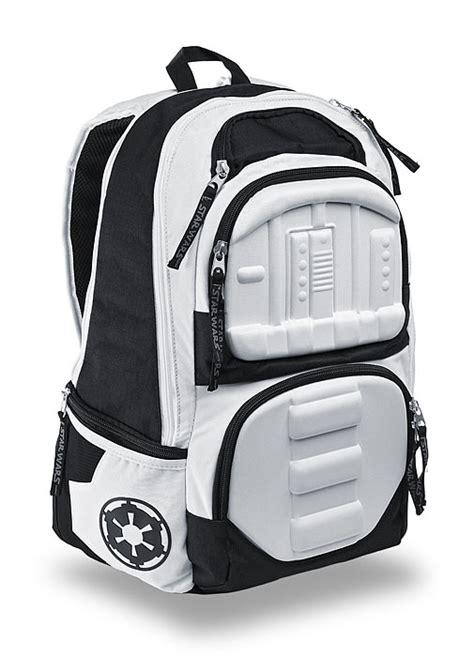 stormtrooper backpack wars stormtrooper molded backpack thinkgeek