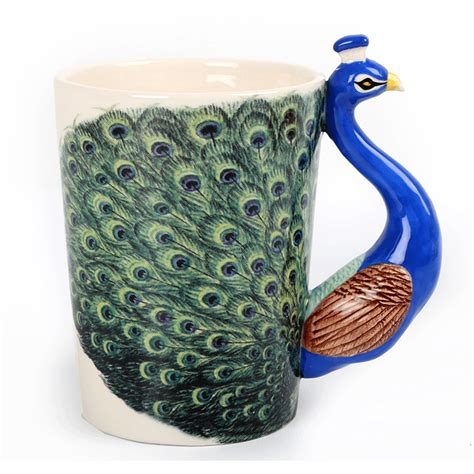 Peacock Mug | peacock mug buy from prezzybox com