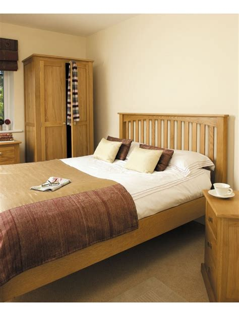 aspen oak bedroom furniture aspen oak 3 0 bed