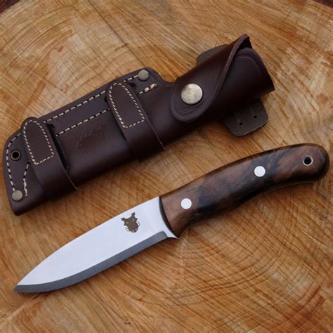 one handed axes that sheath on your back tbs boar bushcraft knife turkish walnut
