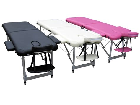 lightweight beauty couch portable folding alu massage table tattoo therapy beauty