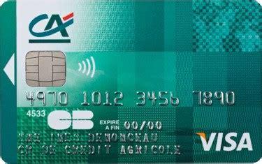 Faux by Crdit Agricole Centre France Detail Cartes Carte Visa