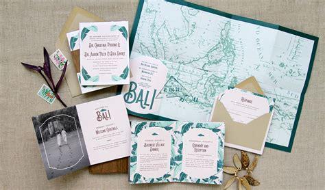 balinese themed wedding invitations invitation custom gallery anticipate invitations