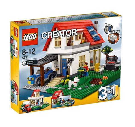 Set 3in1 my lego style lego creator hillside house 5771