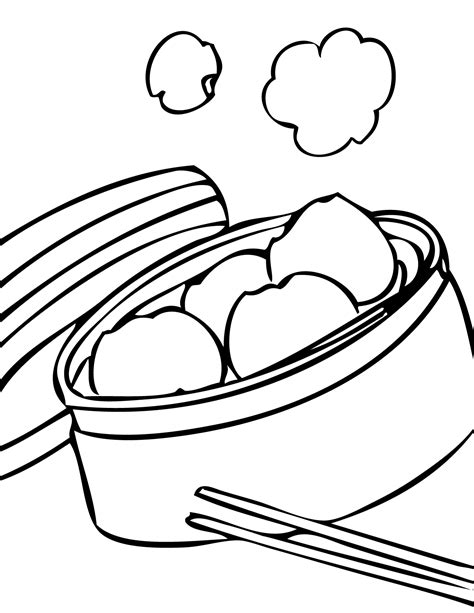 healthy food coloring pages sketch coloring page