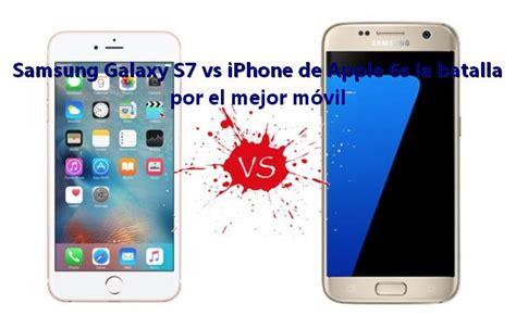 samsung galaxy   iphone de apple