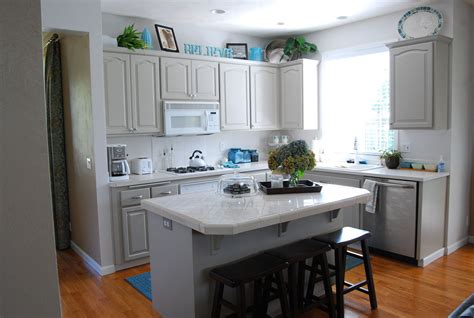 cabinet colors for small kitchens how to paint a small kitchen in a light color interior