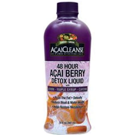 Acai Cleanse Detox Liquid by Garden Greens Acaicleanse 48 Hour Acai Berry Detox