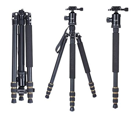 Sale Weifeng Portable Tripod Wt 695 Black tripod ikross 61 inch professional light weight dslr tripod with smartphone adapters and
