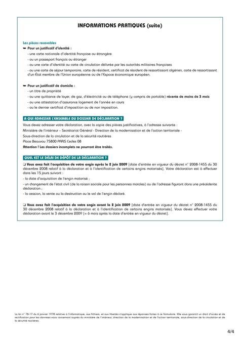 declaration moto cerfa