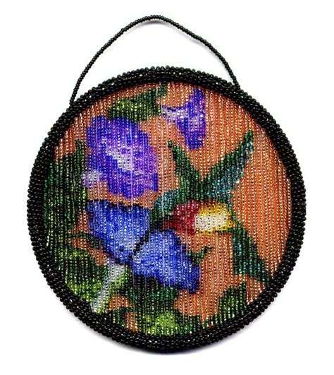 bead suncatcher patterns hummingbird suncatcher ring pattern and kit