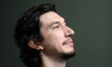 adam driver �lots of things have been said about my face