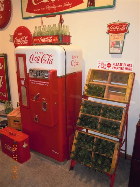 vintage coca cola crates and empties rack collectors weekly