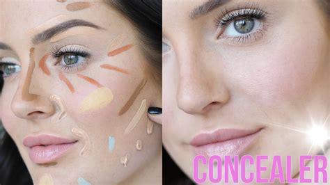 tutorial makeup concealer no foundation makeup tutorial concealer hacks youtube